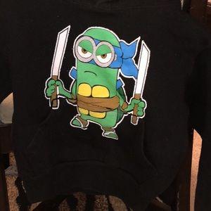 Shirts & Tops - Minion TMNT Kids Sweatshirt